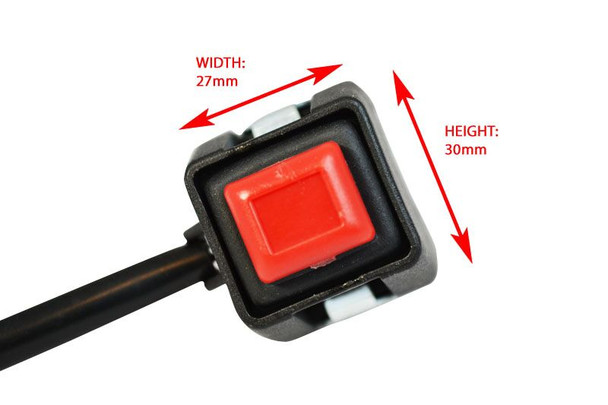 """Quality Universal Engine Kill Switch For All Motorbikes with 7/8"""" 22mm Handlebars"""