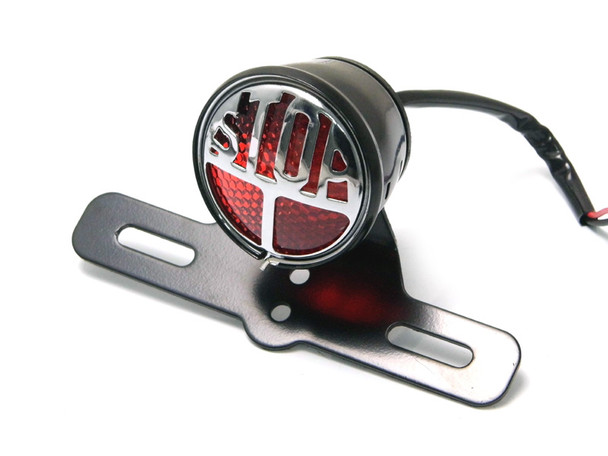 LED Miller Replica Rear Stop Tail Light For Retro Motorbikes Harley Davidson / Cruiser / Cafe Racer Project