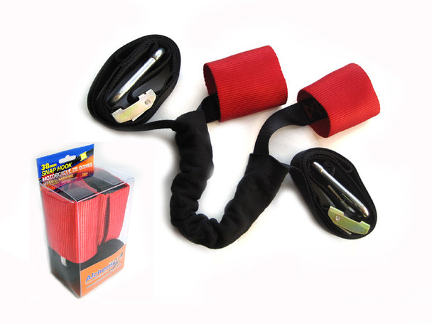 Motorbike - Extra Strong Transportation Tiedown Straps With Harness