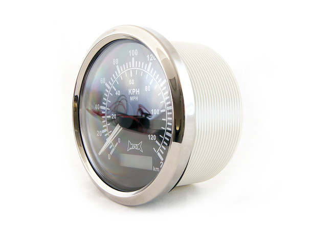 85mm Waterproof GPS Digital Speedometer MPH & KPH for Boats Cars Tractors Motorcycles Quads