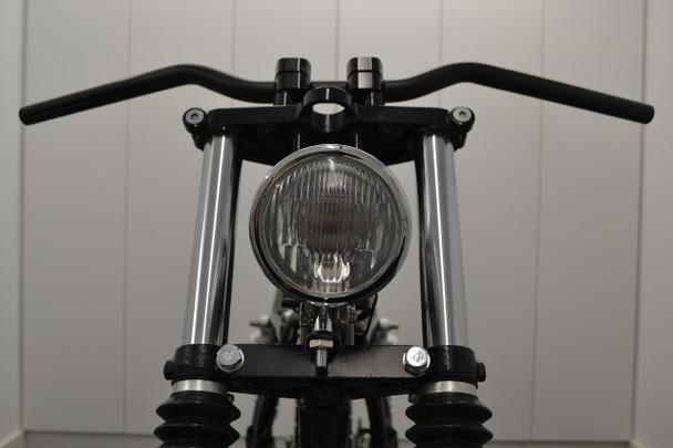 "4.5"" 4 1/2"" Chrome Headlight 12V 55W for Custom Project Motorbike Motorcycle"