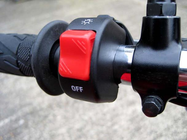 "Universal Headlight / Spotlight Switch to fit 25mm 1"" Handlebars for Motorbike Trike Quad"