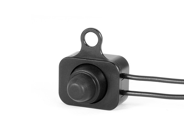 Black Auxiliary Light On/Off Switch for Harley Davidson Dyna Softail Tourer & Sportster