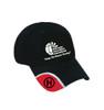 "Black HAI ""No Top Button"" Adjustable Hat"