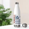 """HAI Interplanetary"" 20oz Stainless Steel Insulated Bottle"