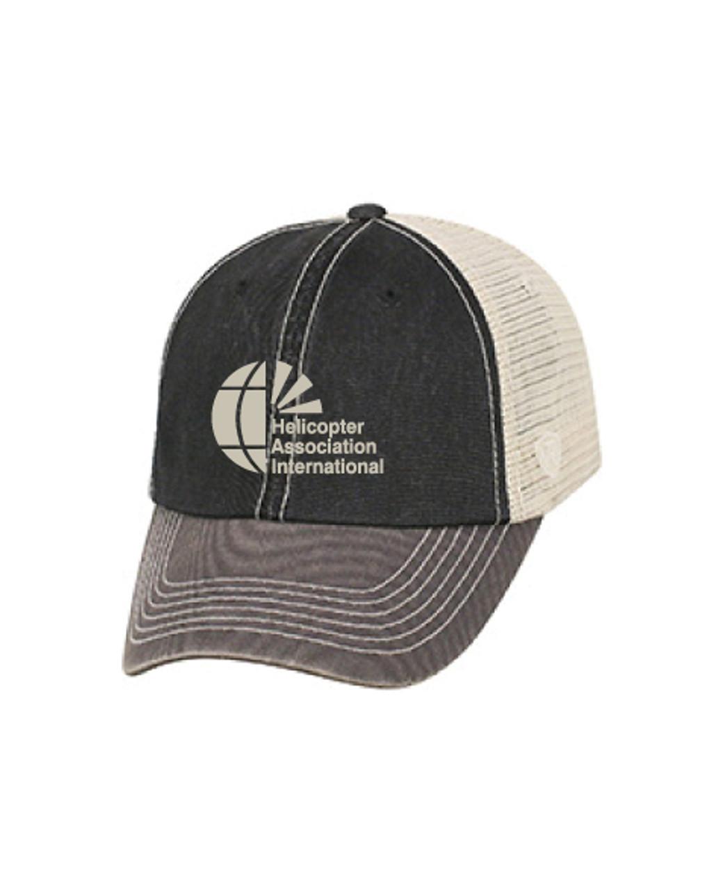 Vintage Washed Offroad Mesh Trucker Hat