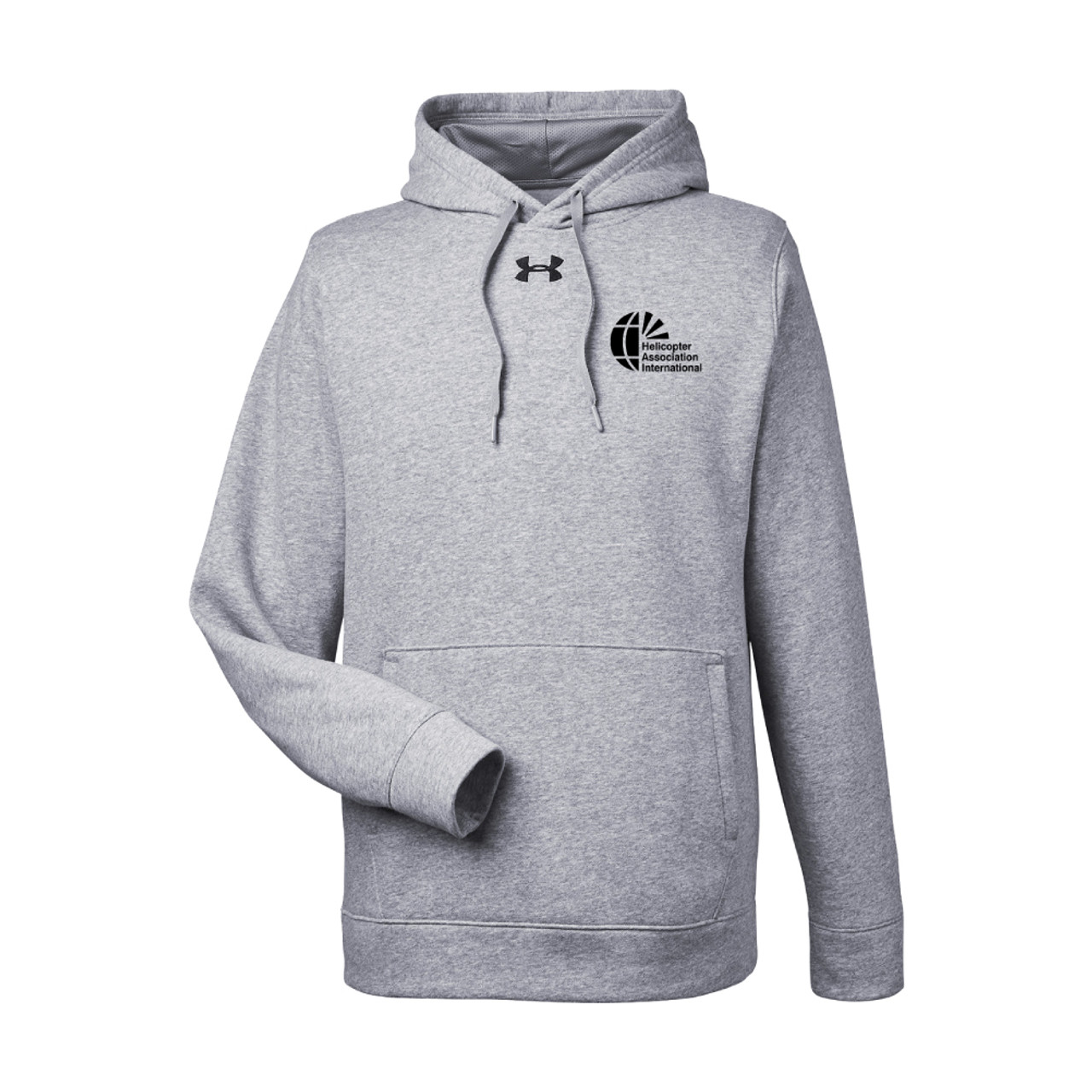 Mens Under Armour Gray Pullover Hood Sweatshirt