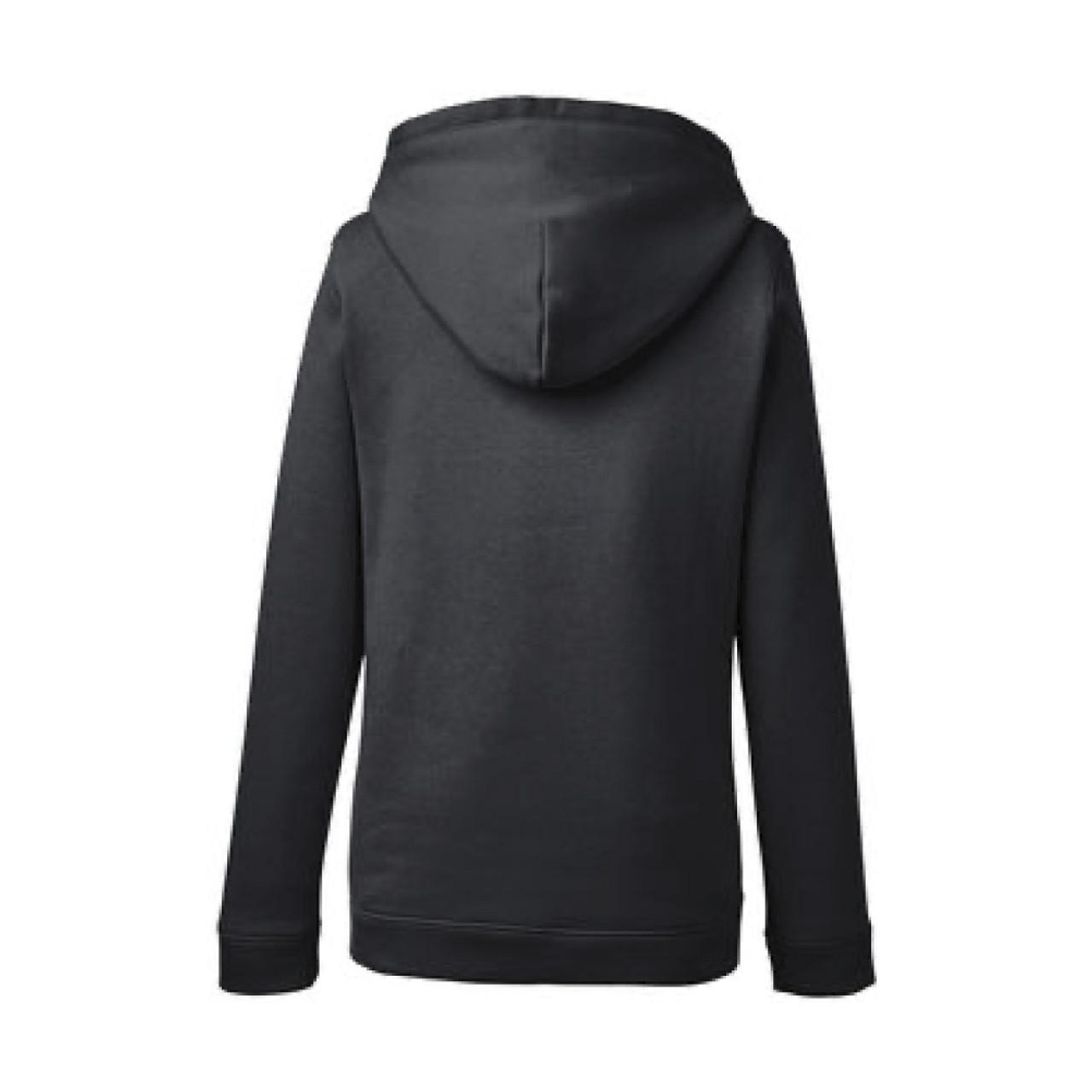Ladies Under Armour Black Pullover Hood Sweatshirt