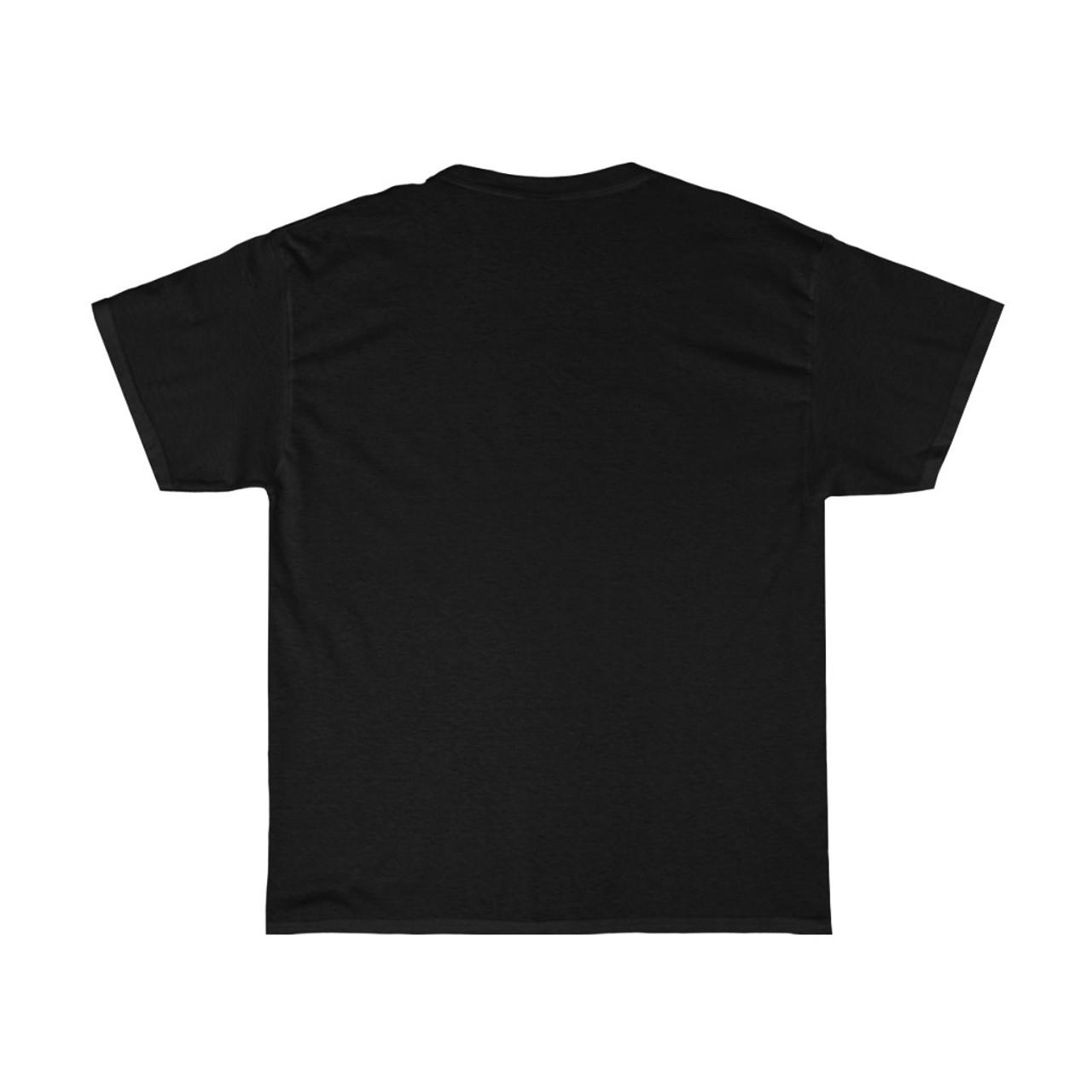 """Unisex """"INGENUITY"""" Black 100% Heavy Cotton Tee"""