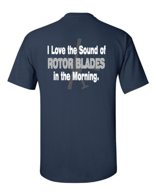 "Navy ""I Love the Sound of Rotor Blades"" Tee"