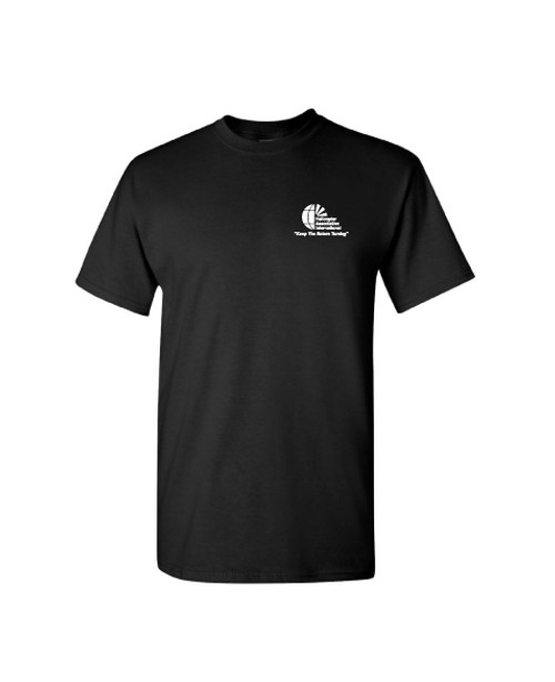 "Mens Black  ""Heroes"" Short Sleeve Tee"