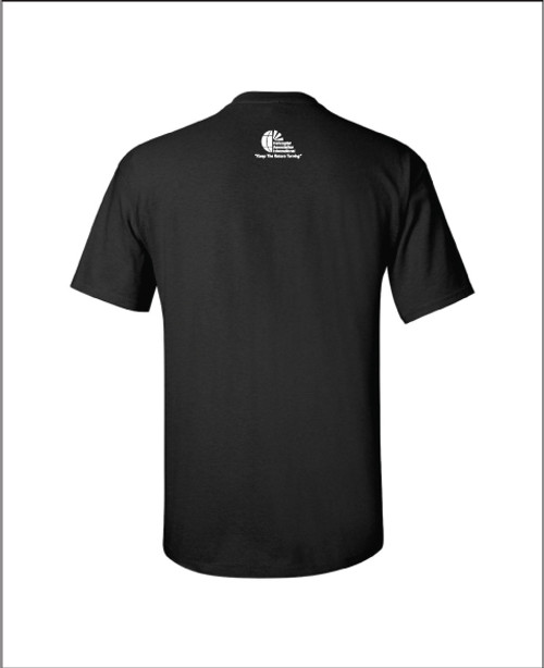 "Mens Black  ""Broke Something"" Short Sleeve Tee"