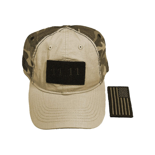 Fatigue Camo 11.11 Veterans Day Cap