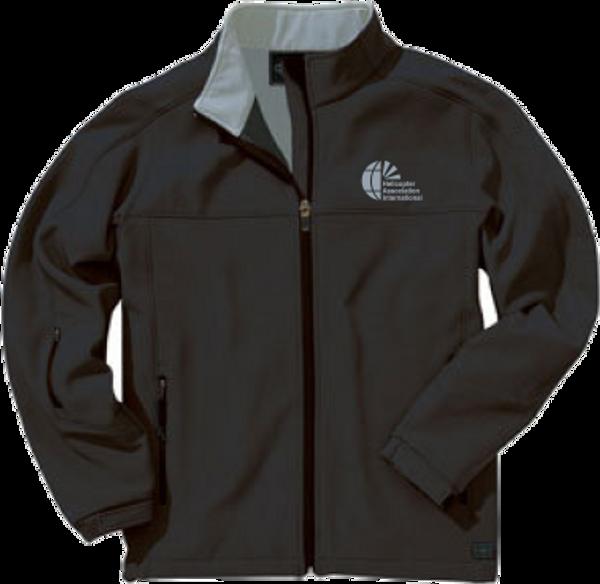 Mens Black Soft Shell Jacket
