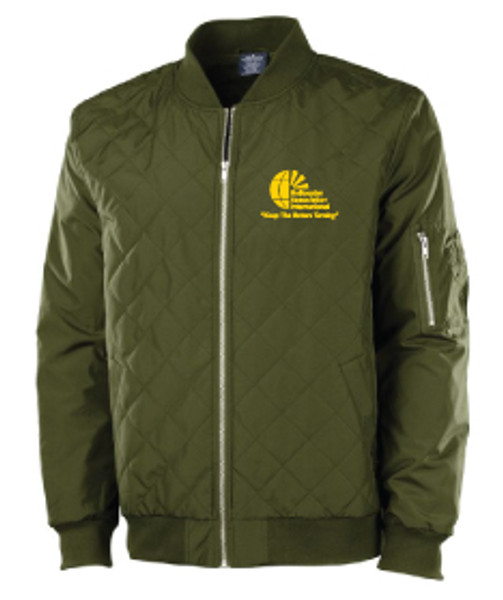 Mens Quilted Flight Jacket