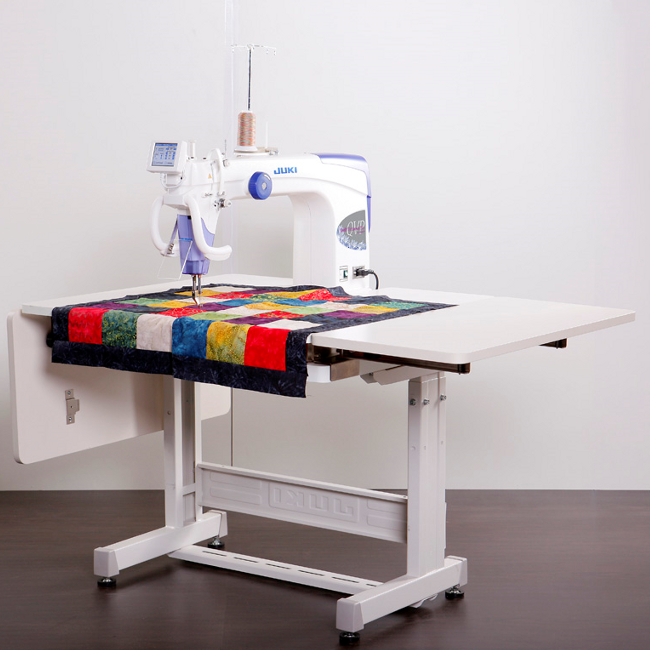 Juki Tl 2200qvp S Long Arm Quilting Machine With Sit Down Table