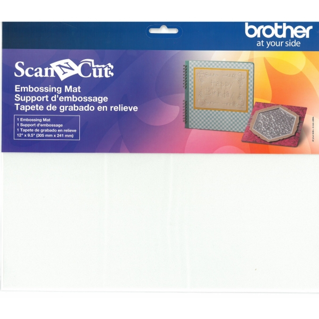 Brother Sewing CAEBSBMS1 Embossing Brass Metal Sheets,