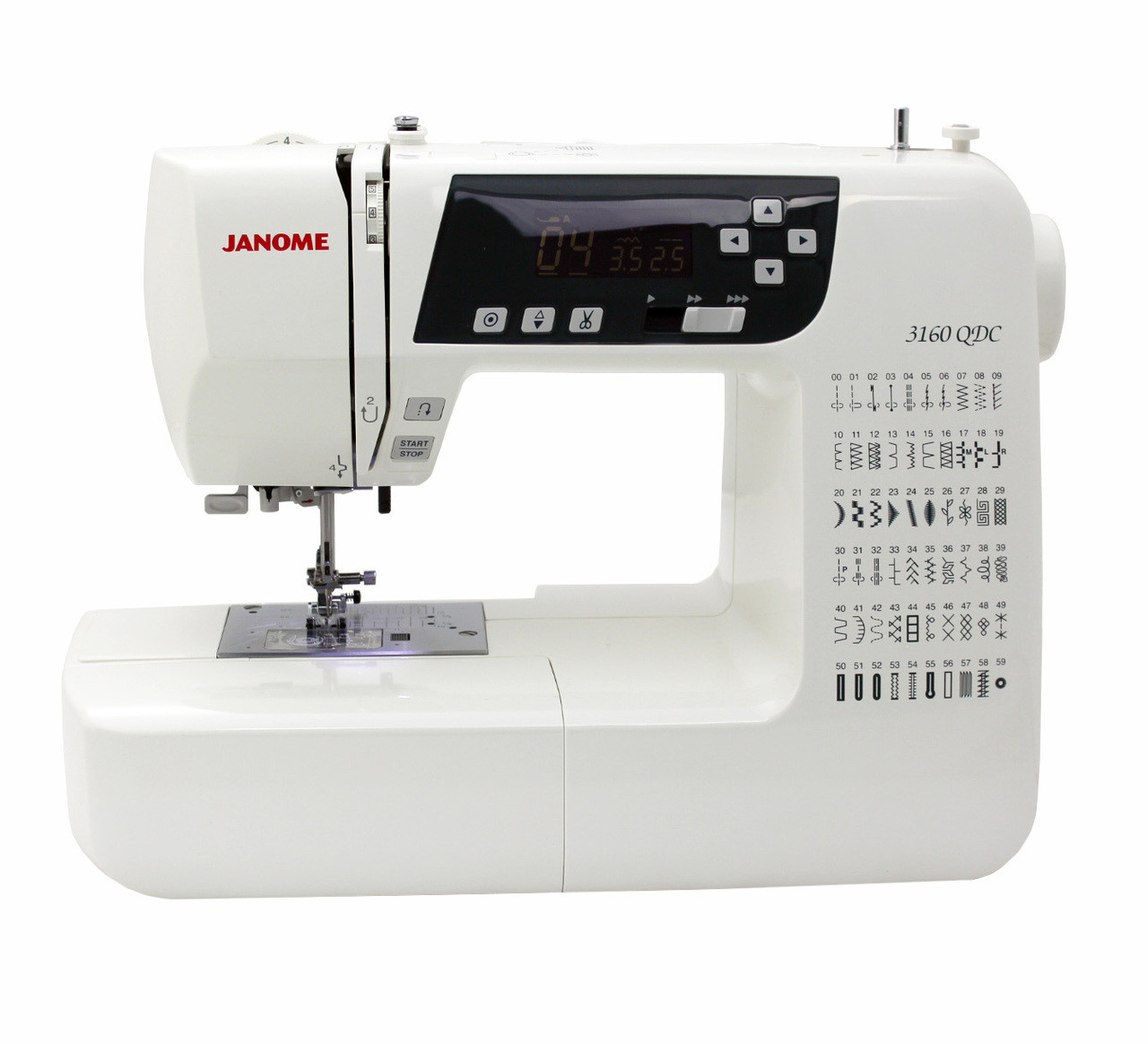 Janome 3160QDC Computerized Sewing Machine - Refurbished ...