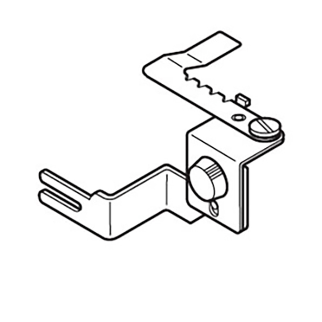 Janome Gathering Attachment For Sergers 19 00