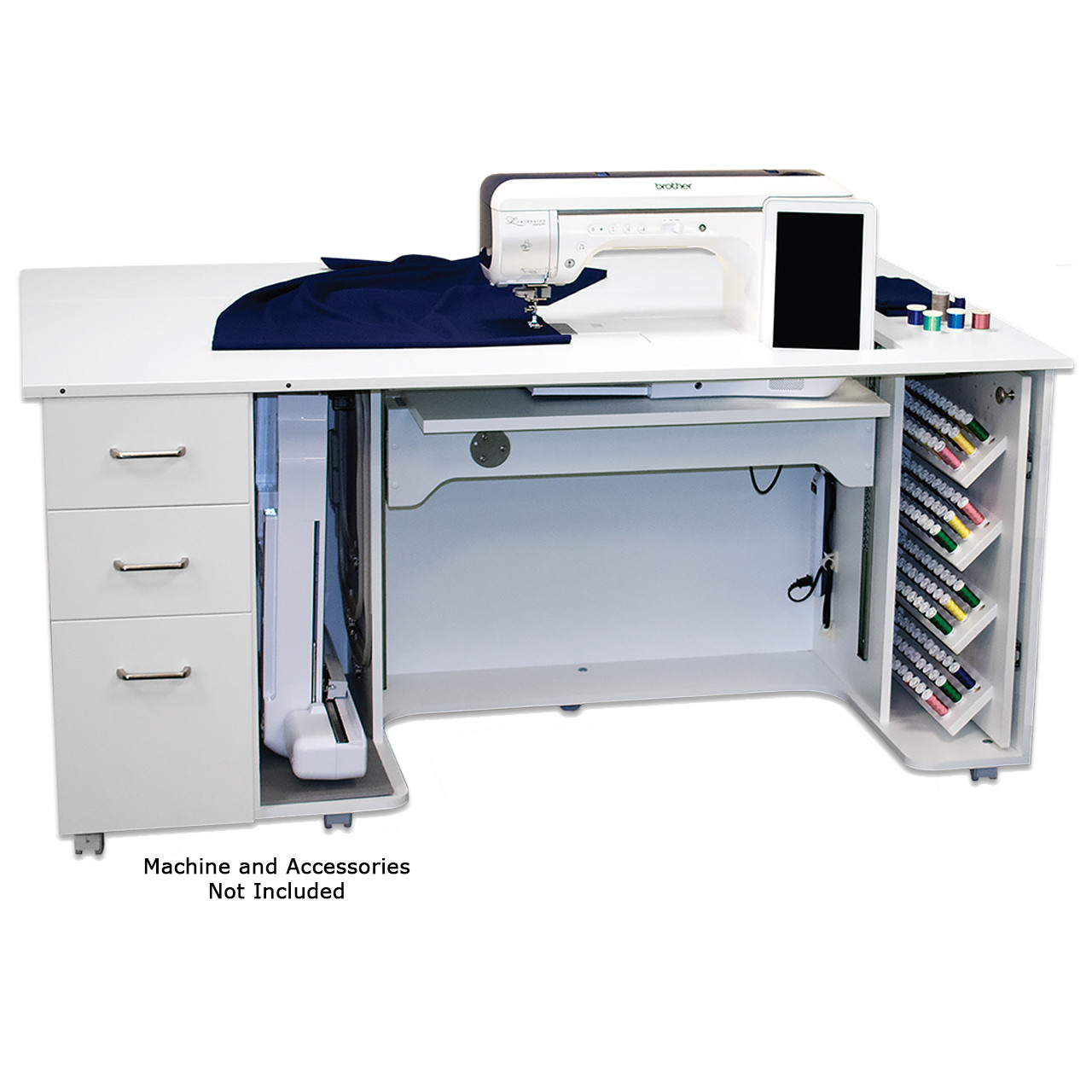 Horn Model 8080 Luminaire / Solaris Sewing Cabinet