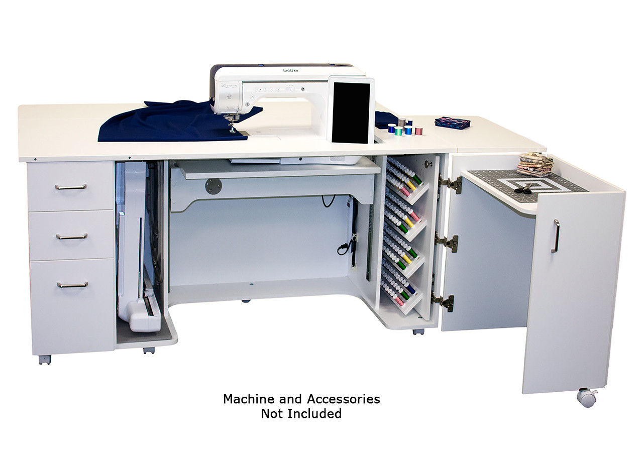 Horn Model 8090 Luminaire / Solaris Sewing Cabinet