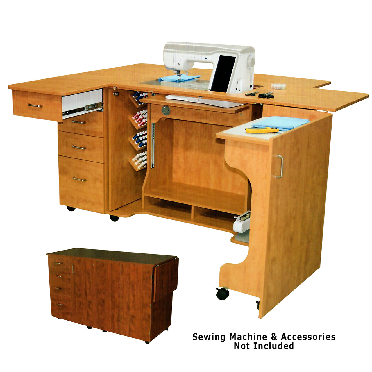 Horn 8479 Electric Lift Elevated Height Sewing Serging and