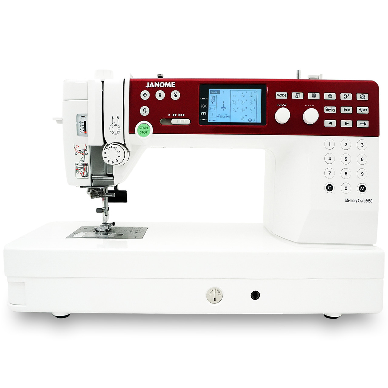 Janome MC6650 Sewing and Quilting Machine with Bonus Bundle on