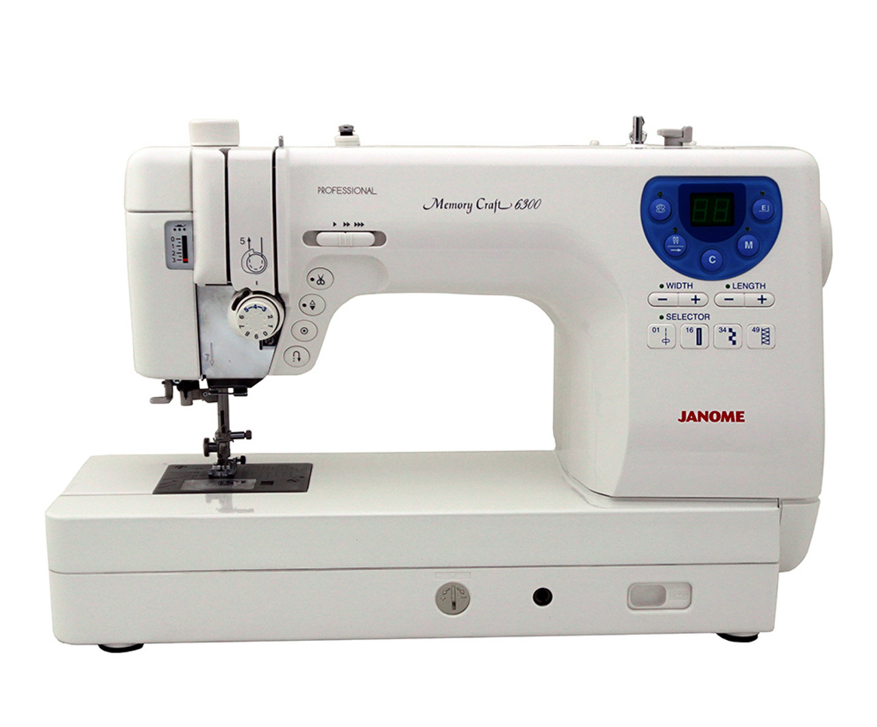 65809aea Janome Memory Craft 6300P Sewing Machine with Exclusive Bonus Bundle  $949.00 - FREE SHIPPING!