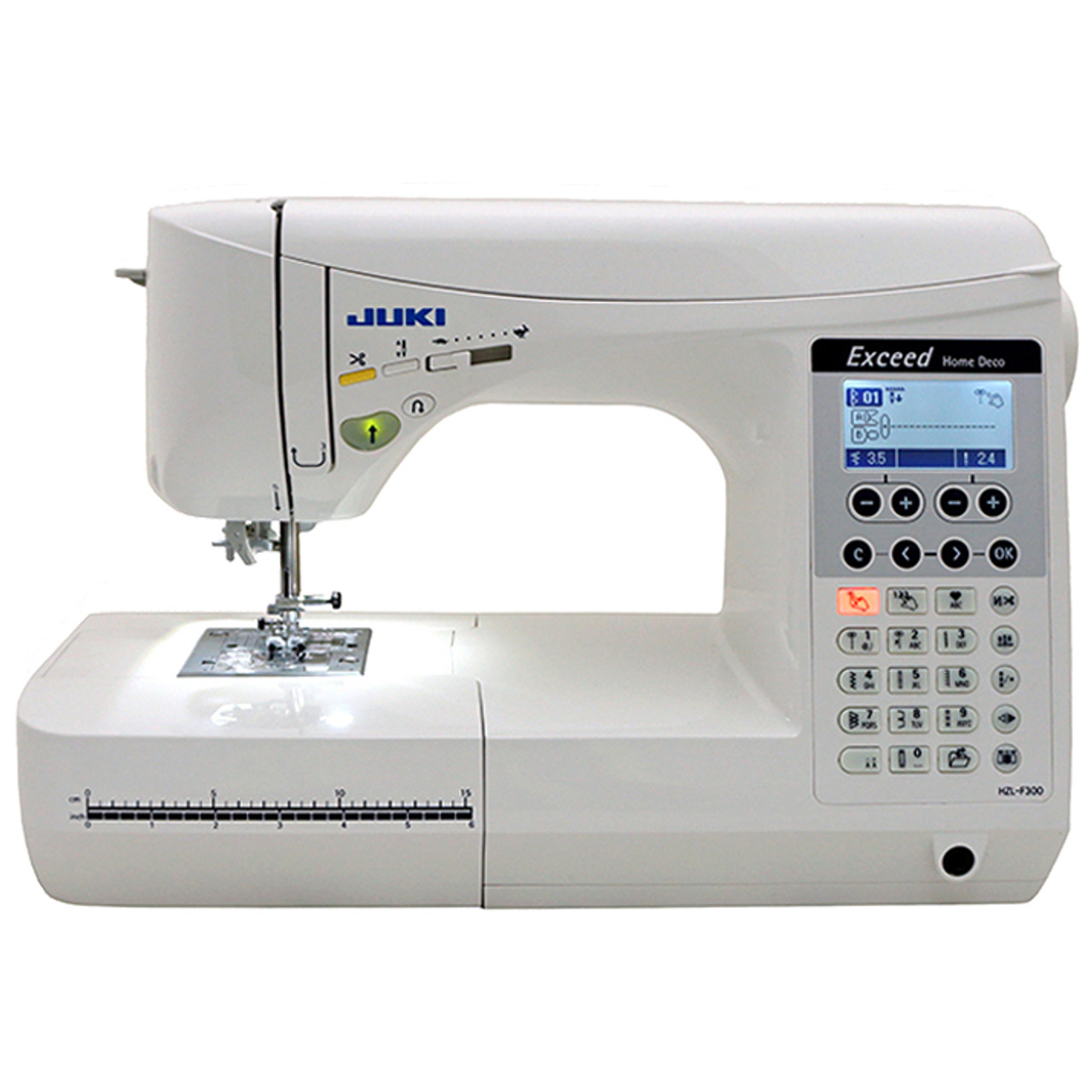 Juki Exceed Hzl F300 Home Deco Computerized Sewing Machine 599 00 Free Shipping