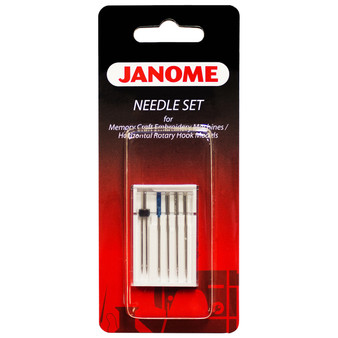 Assorted Needle Set for Janome Sewing Machines