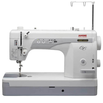 Janome 1600P-QC High Speed Sewing & Quilting Machine (Refurbished) - Front view