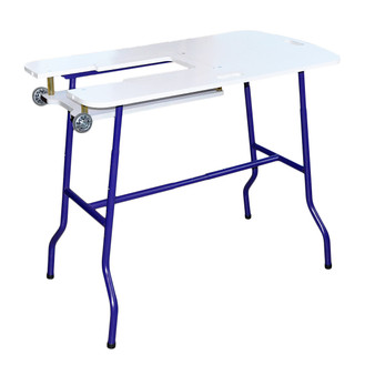 Sullivans Adjustable Height Foldable Sewing Table Model 39276