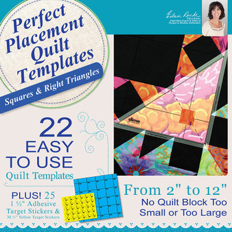 Perfect Placement Quilt Templates – Bundle - All Three Sets