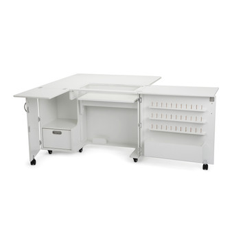 Kangaroo Kabinets - Wallaby II Sewing and Serger Cabinet in White