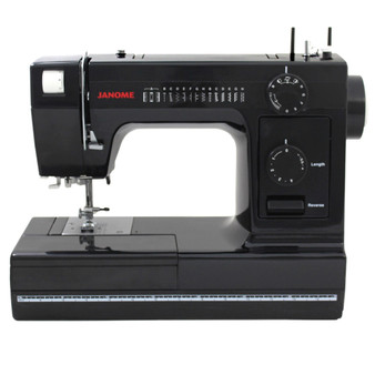 Janome HD 1000 Black Edition Sewing Machine - Front View