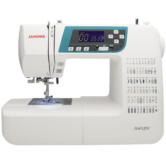 Janome 3160QDC-B Sewing and Quilting Machine - Left Side View