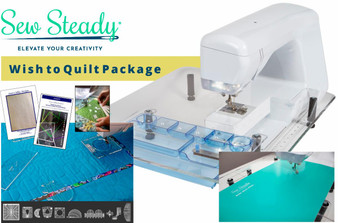 Sew Steady Wish to Quilt Table Package