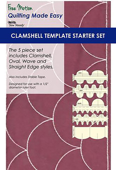 Sew Steady Clamshell Template Starter Set of 5