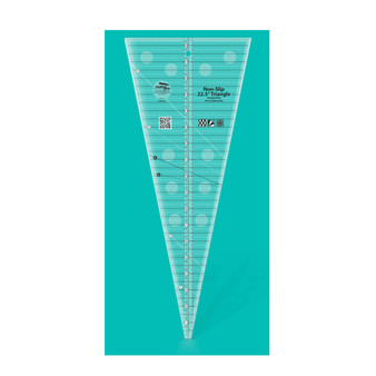 Creative Grids 22.5 Degree Triangle Quilt Ruler