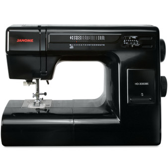 Janome HD3000-BE Black Edition Sewing Machine with Exclusive Bonus Accessories