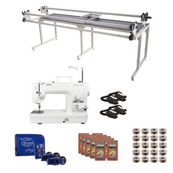 Brother PQ1500SL Grace 8' Continuum II with Sure Stitch Machine Quilting Combo 2