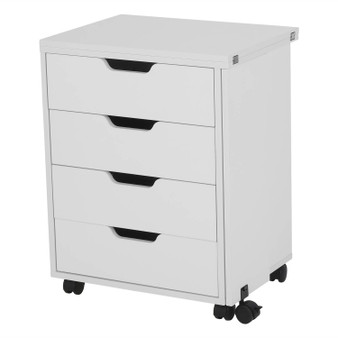Arrow Shirley Four Drawer Storage Cabinet in White