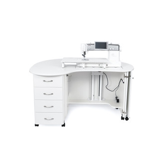 Americana R8301 Amelia Sewing Cabinet in White
