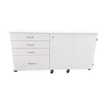 Americana R9501 Susan Sewing Cabinet in White