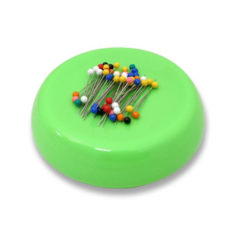 Grabbit Lime Magnetic Pincushion With 50 Pins