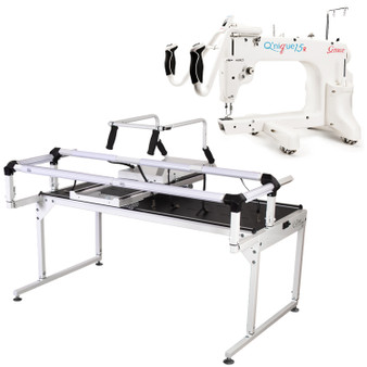 Grace Q'Nique 15R Midarm Quilting Machine with Hoop Frame Pro