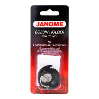 Janome Free Motion Quilting Bobbin Case for M7 in packaging