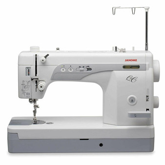 Janome 1600P-QC Grace Cutie Frame with Speed Control Machine Quilting Combo 10