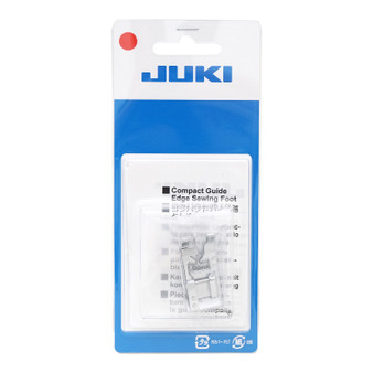 Juki Compact Guide Edge Presser Foot for HZL models in packaging