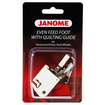 Janome Top-Load - Even Feed Foot with Quilt Guide